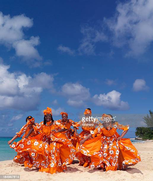 caribbean dancers - tradition stock pictures, royalty-free photos & images