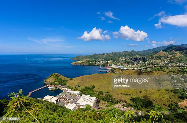 Caribbean, Grenadines, St. Vincent, as seen from Fort Charlotte