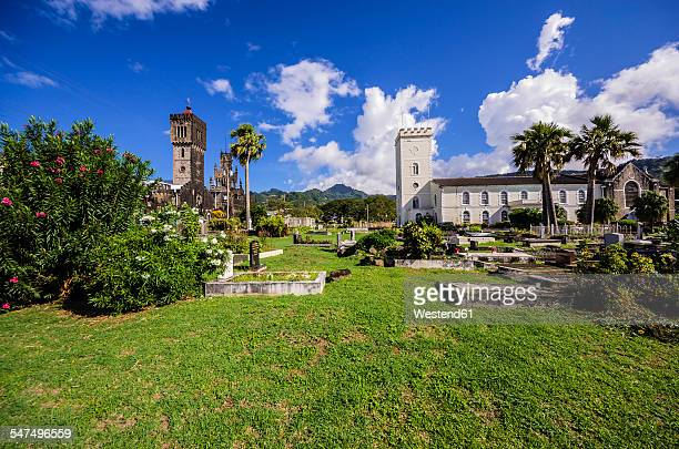 Caribbean, Grenadines, St. Vincent, St. George and St. Marys cathedral