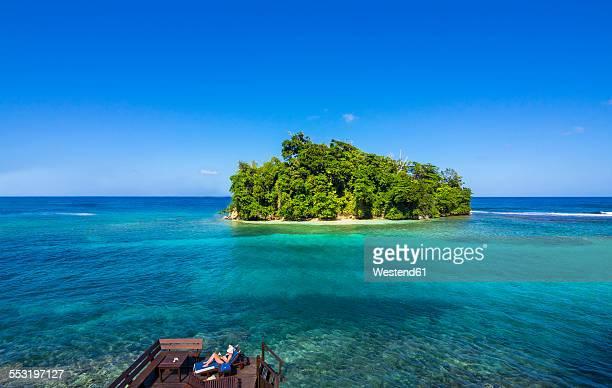 Caribbean, Jamaica, Port Antonio, Pellew Island