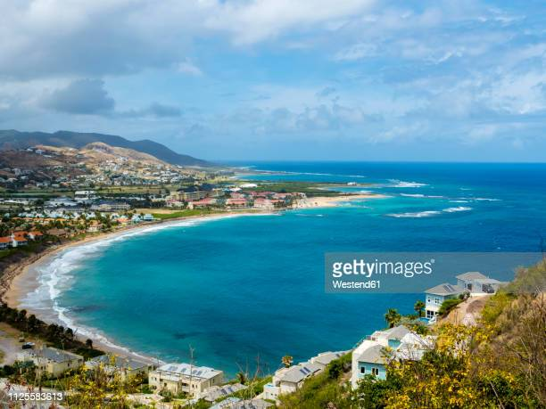 caribbean, lesser antilles, saint kitts and nevis, basseterre - st. kitts stock photos and pictures