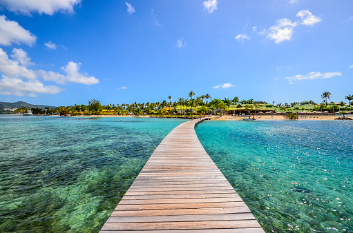 Caribbean Martinique pontoon on marin bay 950860142