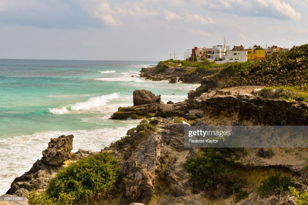 Caribbean ocean scenery : Stock Photo