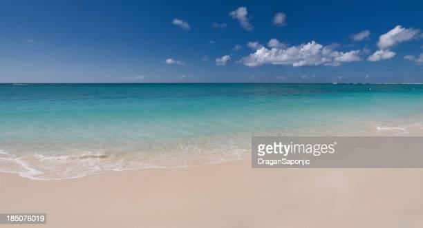 Karibische Paradies-Strand