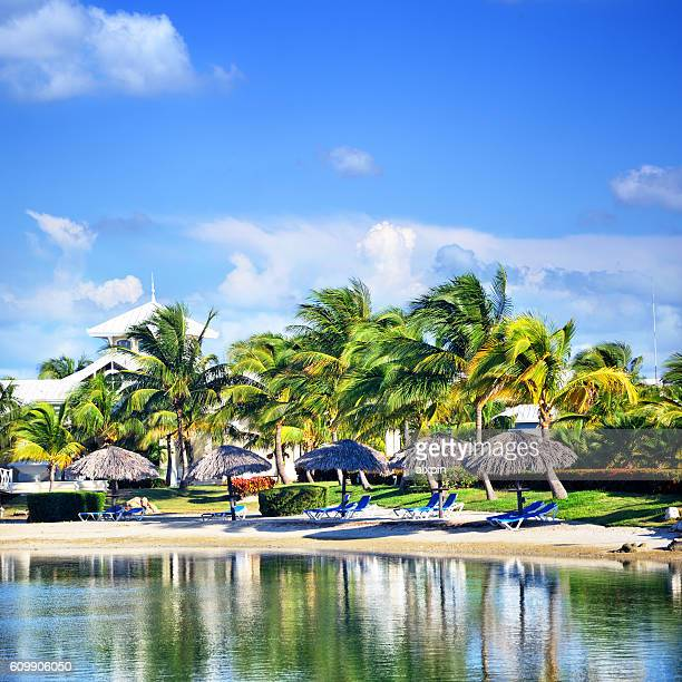caribbean resort - varadero beach stock pictures, royalty-free photos & images