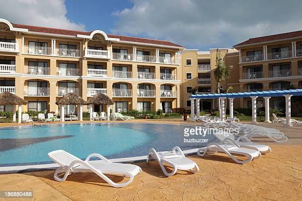 Caribbean Resort Poolside