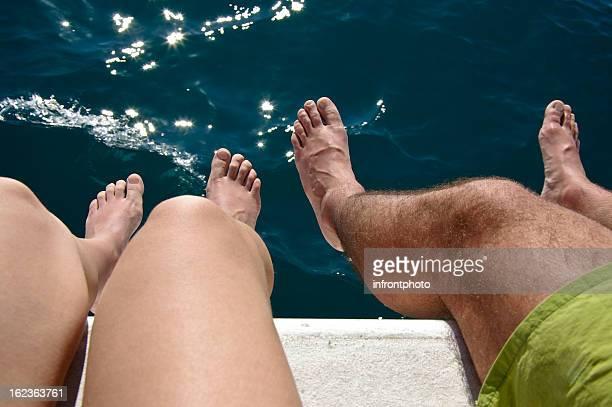 caribbean sailing holiday - catamaran stock photos and pictures