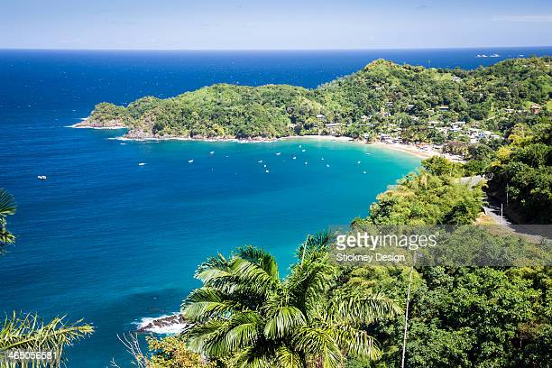 Caribbean Sea bay turquoise calm water Tobago