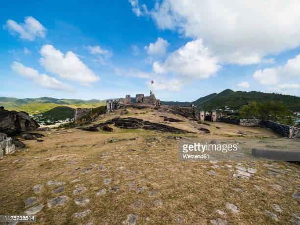 caribbean, sint maarten, fort luis - sint maarten stockfoto's en -beelden