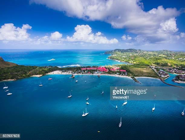 Caribbean, St. Lucia, Cap Estate, Pigeon Island National Park