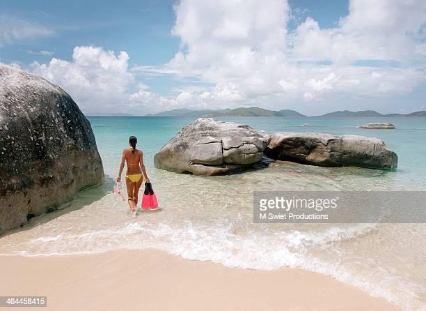 Caribbean virgin gorda free dive