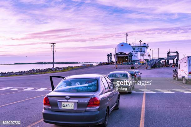 caribou ferry port - ferry stock pictures, royalty-free photos & images
