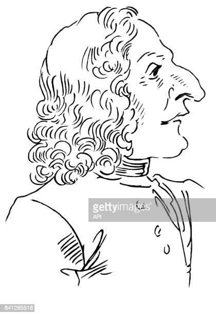 Caricature du compositeur Antonio Vivaldi