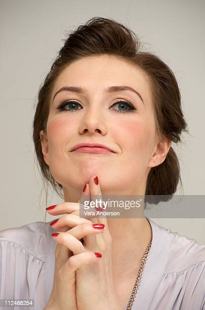 Carice van Houten at the Valkyrie press conference at the Four Seasons Hotel on November 20 2008 in Beverly Hills California