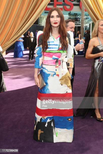 Carice van Houten attends FOXS LIVE EMMY RED CARPET ARRIVALS during the 71ST PRIMETIME EMMY AWARDS airing live from the Microsoft Theater at LA LIVE...