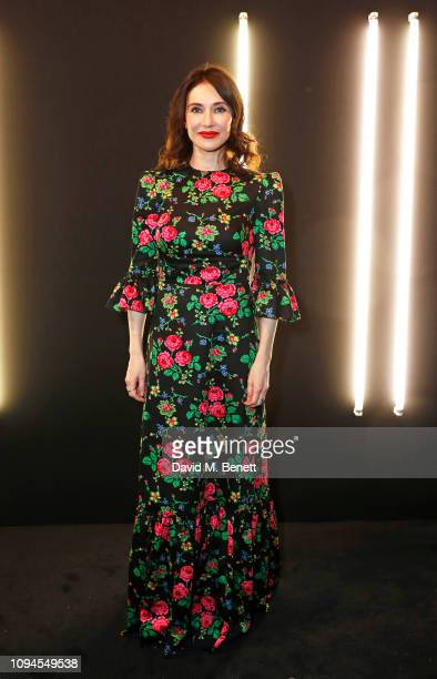Carice van Houten attends the dunhill PreBAFTA dinner at dunhill Bourdon House on February 6 2019 in London England
