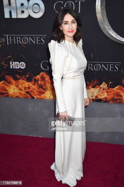 Carice van Houten attends the Game Of Thrones Season 8 NY Premiere on April 3 2019 in New York City