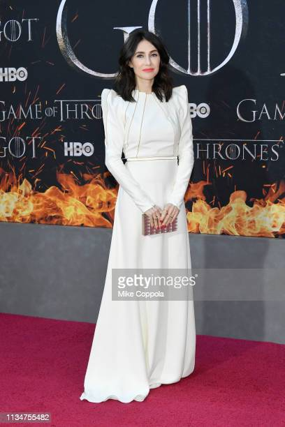 Carice van Houten attends the Game Of Thrones season 8 premiere on April 3 2019 in New York City
