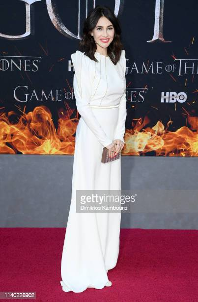 Carice van Houten attends the Game Of Thrones Season 8 Premiere on April 03 2019 in New York City