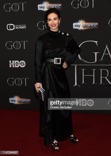Carice van Houten attends the Game of Thrones Season 8 screening at the Waterfront Hall on April 12 2019 in Belfast Northern Ireland