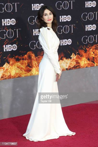 Carice van Houten attends the Season 8 premiere of Game of Thrones at Radio City Music Hall on April 3 2019 in New York City