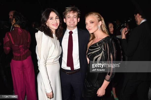 Carice van Houten Jack Gleeson and Natalie Dormer attend the Game Of Thrones Season 8 NY Premiere on April 3 2019 in New York City