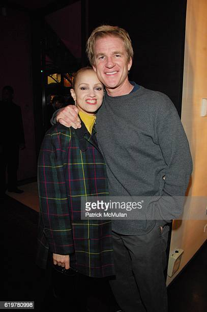 Caridad Modine and Matthew Modine attend Ungaro Hosts the Kickoff of New Yorkers for Children's Spring Gala New Years In April A Fool's Fete at...