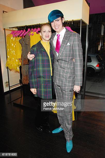 Caridad Modine and Patrick McDonald attend Ungaro Hosts the Kickoff of New Yorkers for Children's Spring Gala New Years In April A Fool's Fete at...