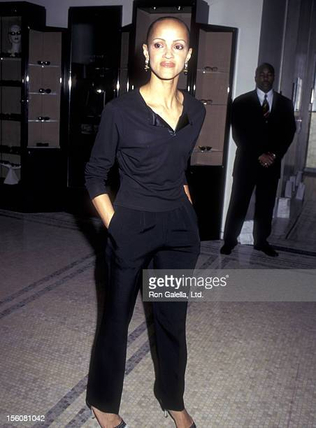 Caridad Rivera attends the 'Beauty for Life' Benefit for the Columbia Presbyterian Medical Center on June 25 1996 at Mad 61 in New York City New York