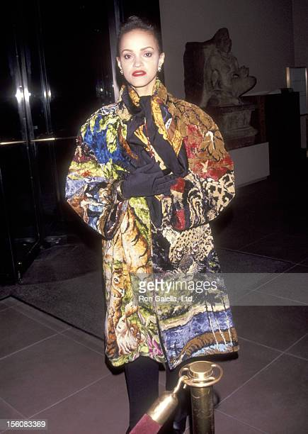 Caridad Rivera attends the New York City Screening of the Documentary 'American Dream' on March 17 1992 at Lil Acheson Wallace Theatre at The Asia...