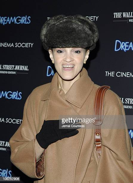 Caridad Rivera during The Cinema Society and The Wall Street Journal Host a Screening of Dreamgirls at Tribeca Grand Screening Room in New York City...