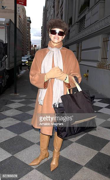 Caridad Rivera poses for a photo on March 2 2005 in New York City