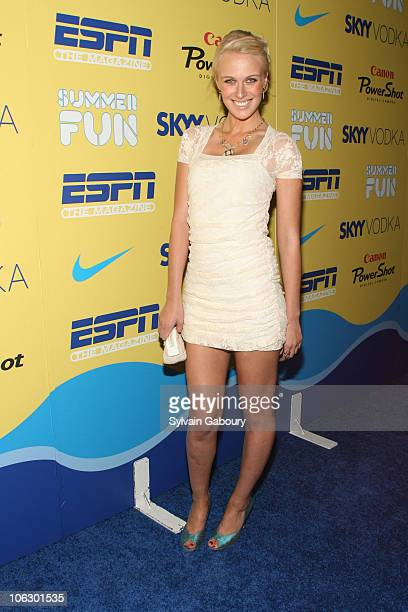 CariDee English during ESPN Magazine Summer Fun Party Arrivals at Pier 59 at Chelsea Piers in New York City New York United States