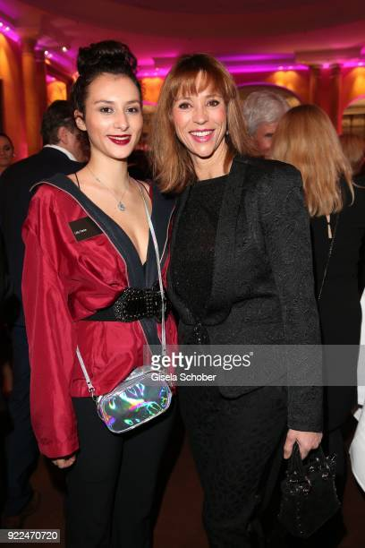 Carin C Tietze and her daughter Lilly Tietze during the 15th Best Brands Award 2018 on February 21 2018 at Hotel Bayerischer Hof in Munich Germany