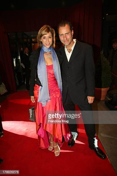 Carin C Tietze and husband Florian Richter at Dvd Night 2005 The Arabella Sheraton Munich