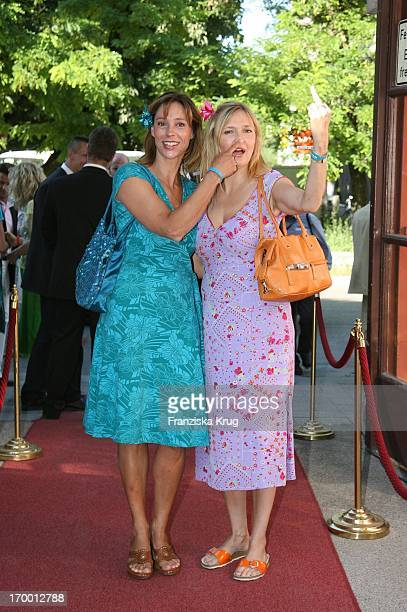 Carin C Tietze and Katharina Schubert At Munich Film Festival in Park Bavaria Film in Munich