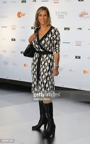 Carin C Tietze arrives at the Echo Klassik award on October 19 2008 in Munich Germany