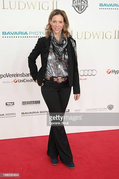 Carin C Tietze attends Ludwig II Germany Premiere at Mathaeser Filmpalast on December 13 2012 in Munich Germany