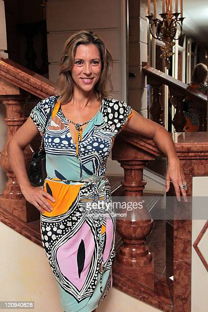 Carin C Tietze attends the Susanne Wiebe Fashion Show on August 12 2011 in Munich Germany