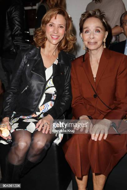 Carin CTietze and Monika Peitsch during the Rodenstock Eyewear Show on January 12 2018 in Munich Germany