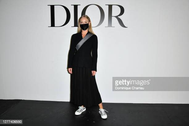 Carin Olsson attends the Dior Womenswear Spring/Summer 2021 show as part of Paris Fashion Week on September 29, 2020 in Paris, France.