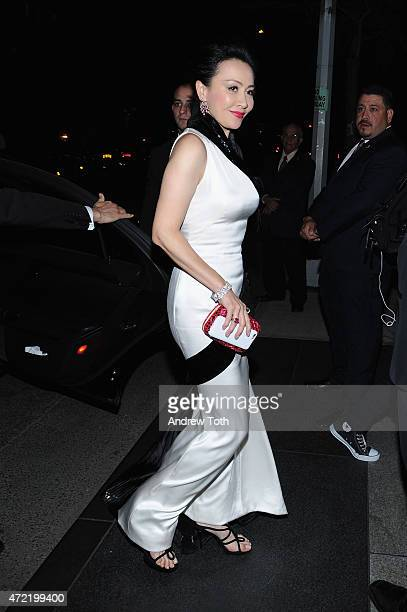 Carina Lau attends Michael Kors and iTunes After Party at The Mark Hotel on May 4 2015 in New York City