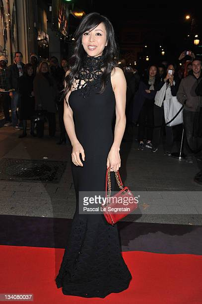 Carina Lau attends the Lancel celebration of '135 Years Of French Legerete' Hosted By Sienna Miller on November 24 2011 in Paris France