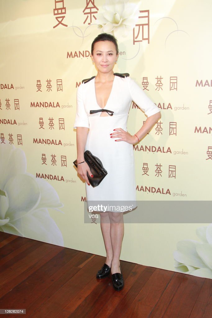 Carina Lau Attends Event In Hong Kong
