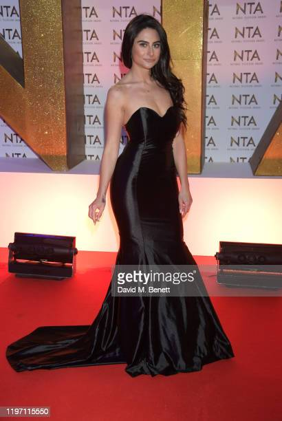 Carina Lepore attends the National Television Awards 2020 at The O2 Arena on January 28, 2020 in London, England.