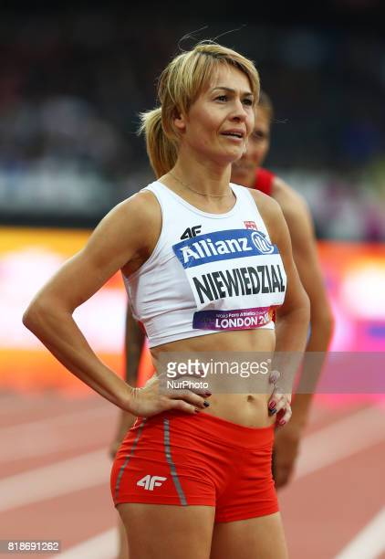 Carina Paim of Poland Women's 400m T20 Final during IPC World Para Athletics Championships at London Stadium in London on July 18 2017