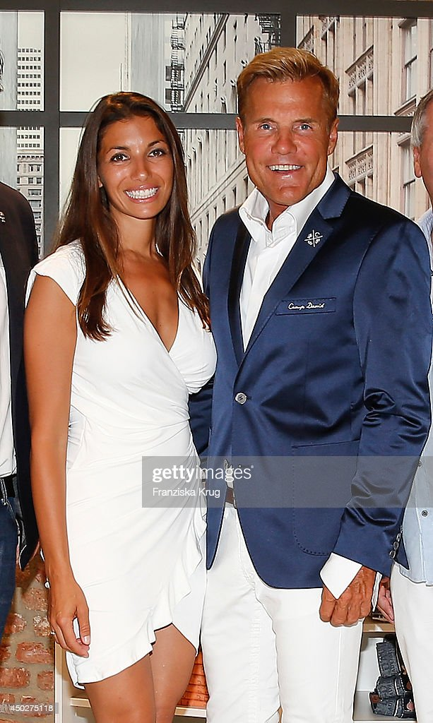 Carina Walz and Dieter Bohlen attend the 'Fashion World ...