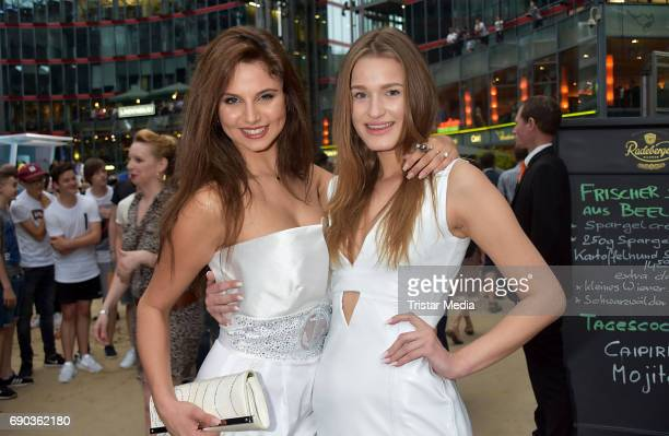 Carina Zavline and Neele Jay during the Baywatch European Premiere Party on May 31 2017 in Berlin Germany