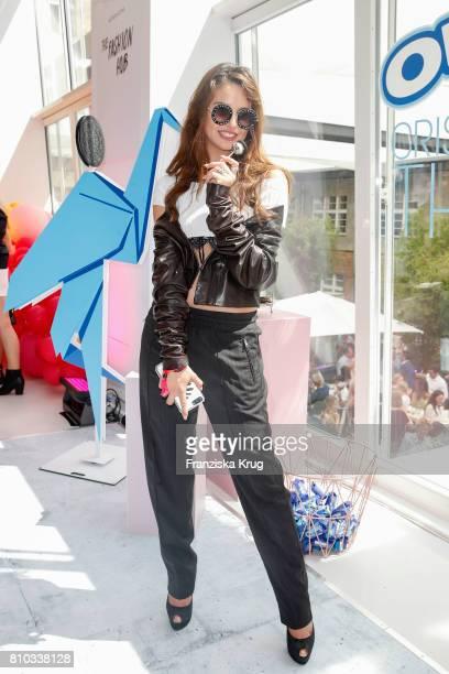 Carina Zavline attends the Gala Fashion Brunch during the MercedesBenz Fashion Week Berlin Spring/Summer 2018 at Ellington Hotel on July 7 2017 in...
