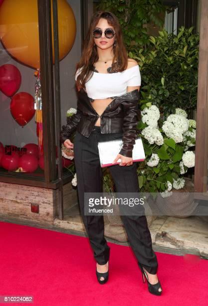 Carina Zavline attends the Gala Fashion Brunch Ellington Hotel on July 7 2017 in Berlin Germany